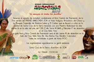 ACTO CENTRAL DE PREMIACIÓN EN SANTA CRUZ CERRARÁ LA SÉPTIMA VERSIÓN DEL GRAN PREMIO ANACONDA 2014