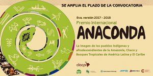 SE AMPLÍA EL PLAZO PARA INSCRIBIRSE EN EL PREMIO ANACONDA 2017-2018